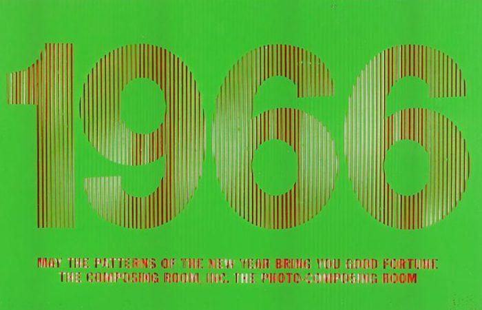 1966 Holiday Card