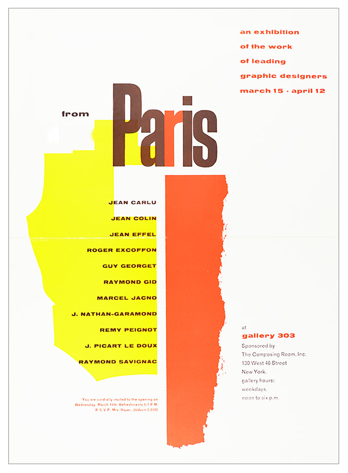 Leading Designers from Paris / Gallery 303