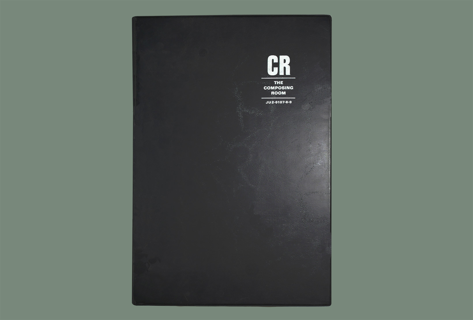 CR Metal Type Book Cover