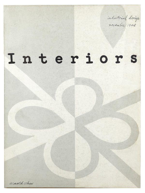 Interiors Magazine Cover 1948